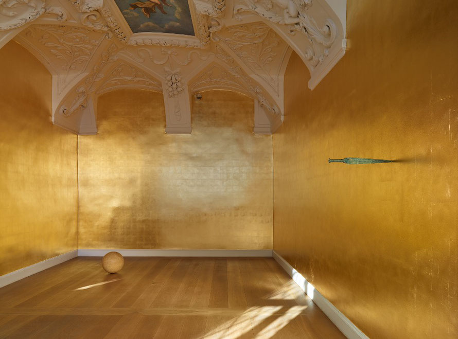 "Galerie Kewenig, James Lee Byars ""The Palace of Perfect"""
