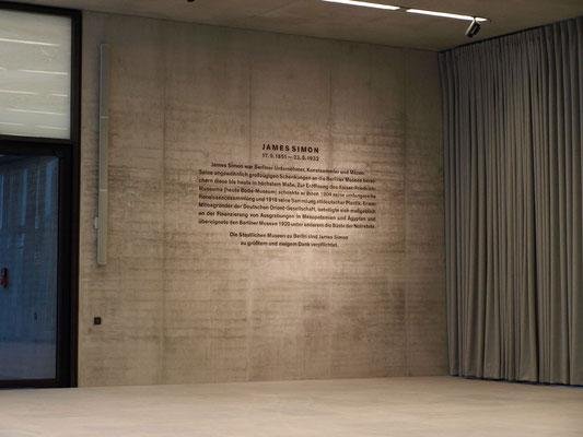 James-Simon-Galerie, Museumsinsel Berlin