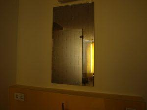 Spiegel aus Blattpalladium