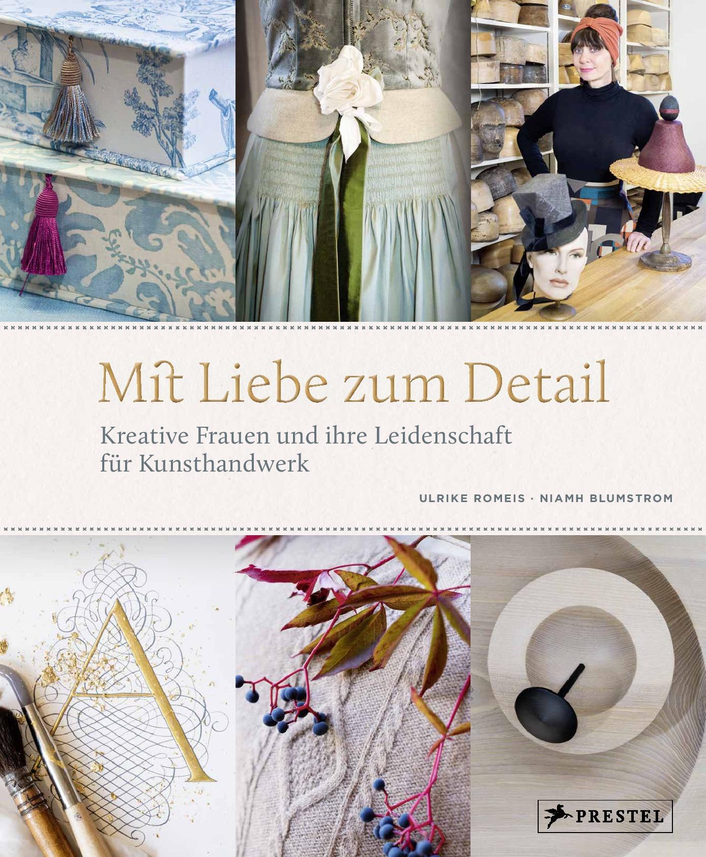 """Buchcover vom Buch """"Mit Liebe zum Detail"""" aus dem Prestel-Verlag"""